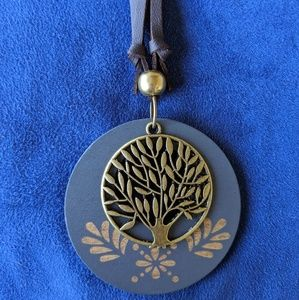 Jewelry - Life Tree Wooden Pendant Necklace